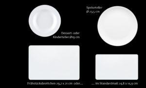 Melamin Geschirr bedrucken mit LogoKleinauflage ab 1 Stück bestellen