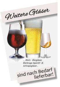 Bierglas Bierkrug Schnapsglas Whiskeyschwenker mit Logo bedrucken gravieren Gravur